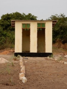 New hand washing facilities at Kindwitwi Kindergarten