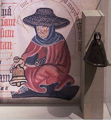 Medieval leprosy bell. Image from Wikipedia